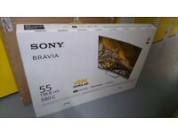 "Sony 55"" - TV For Sale £800 - NEW SEALED (Curved 4K)"