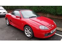 MG TF 1.8 RED 2 SEATER CONVERTABLE