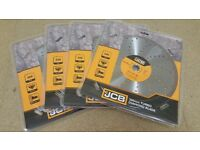 New JCB 300mm Turbo DIAMOND DISC BLADE Concrete Stone Saw Disc Angle GrinderCut