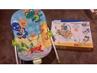 Baby einstein rhythm of the reef rocker
