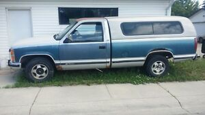 1990 Chevy truck with topper