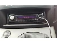 Kenwood cd player Aux input mp3