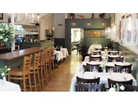Experienced waiter /waitress required for authentic Italian restaurant - Stepney Green