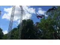 Flying Trapeze Class in Regents Park 2-4pm today!