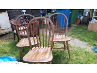 Curved back ercol like design - 3