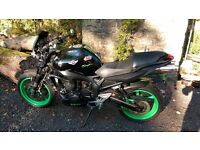 2009 Yamaha FZ6 Isle of Mann Monster Energy TT themed Motorbike