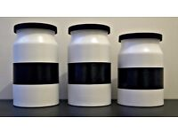 large canisters/containers for food