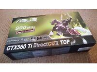 ASUS GeForce GTX 560 Ti DirectCU 1024 MB Graphics Card 1GB