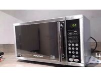 Morphy Richards Microwave in very good condition. Silver grey. 900w