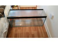 3ft fish tank with lid and pump
