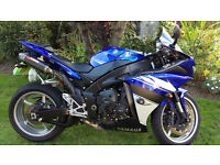 2010 Yamaha R1 Big Bang