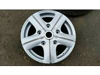 transit alloy wheels just refurb set of 4 see pictures (£425) ONO