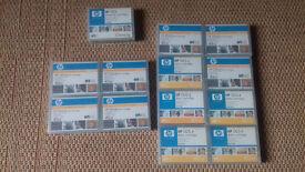 12x HP DDS-4Data Cartridges 40GB each C5718A