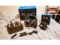G29 Logitech Steering Wheel + Logitech Shifter