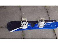 Junior Snowboard with bindings