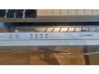 Integrated Indesit dishwasher