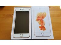 Apple Iphone 6S 16GB ROSE GOLD with BOX, cable, charger, UNLOCKED