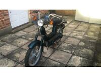 Vespa Si Piaggio 50cc Moped UK Plated 2 pounds for 140km like Ciao o Bravo