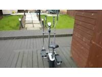Air walker/exercise bike