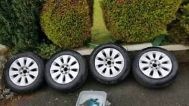 Vw/Audi 16inch Alloys Wheels and tyres