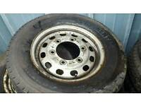 Commercial wheels and tyres