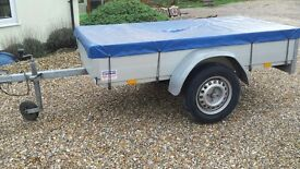 Trailer indespension 2m x 1m aluminium