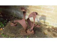 Patio/Garden sculpture/candle holder