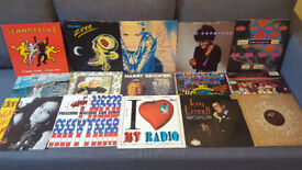 "46 x 12"" vinyls *** job lot ***"