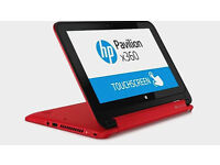 Touchscreen HP Pavilion X360 Laptop/Tablet Convertible,11.6''HD LED. 500GB, 4GB, MSOffice