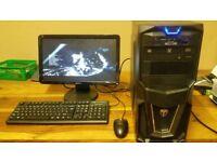 Quad Core Gaming PC £190