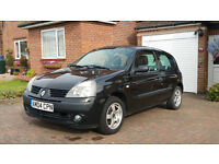 RENAULT CLIO 1.2 16v EXTREME(2004)2 LADY OWNER-12 MONTH MOT-15'' ALLOYS/SUNROOF-FULL SERVICE HISTORY
