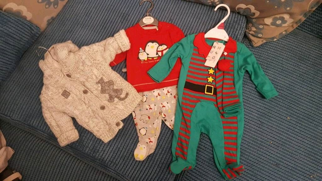 2acd1454f Newborn baby christmas outfits | in Neath, Neath Port Talbot | Gumtree