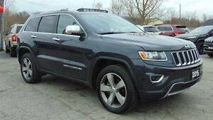 2015 Jeep Grand Cherokee LIMITED 4X4 - SUNROOF - ONLY 22,500 KMS