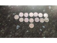 50 pence's