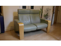 Recliner Ekornes Stressless Two-Seater Sofa + Armchair (O.N.O)