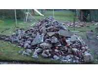 Concrete/brick rubble