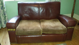 Original Vintage 1940s CC41 Utility Art Deco 3 piece sofa suite