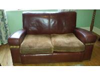 Original Vintage 1940s CC41 Utility Art Deco 3 piece sofa suite