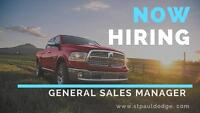 Automotive General Sales Manager
