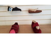 Slippers sandpiper . Various sizes and colours all on SALE due to shop refurb