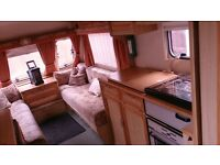 Caravan 2 berths in good clean condition with awning no damp