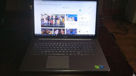 "Dell Inspiron 7737 7000 Series 17.3"" Touchscreen, i5-4200U, 6GB Ram Nvidia GT750"