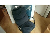 Ikea Black Swivel Chair