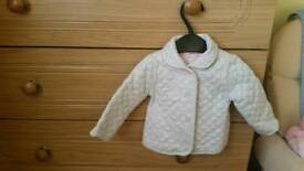 Baby girl jacket 0-3 months