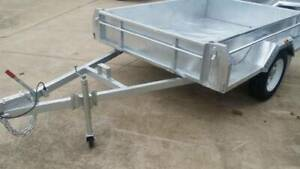 7x5 Hot dipped Galvanised Trailer 1400kgs Hindmarsh Charles Sturt Area Preview