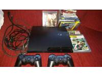 Play station 3 ps3 Sony perfect conditions 160gb games and controllers