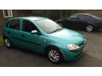 Great condition 5 door 1.2 Corsa elegance for sale. Smooth runner, no issues.