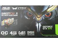 Asus STRIX GeForce GTX 970 OC Edition Direct CU II 4GB