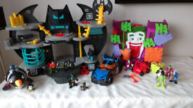 Fisher Price Imaginext Batman Playsets