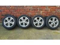 Genuine Ford Galaxy S Max Alloys and Very Good Tyres